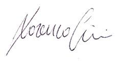 lorenzo cini allekirjoitus